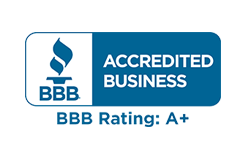 Better Business Bureau Accredited A+ Rating